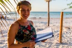 Freie Trauung am Strand der Isla Holbox