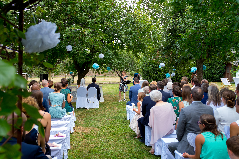 Freie Trauung Zeremonie Hochzeit Kastanienhof Köln