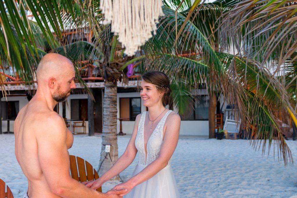 Persönliche Worte Ehegelübde Trauung Hochzeit Strand