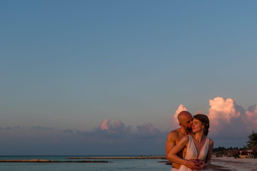 Wedding Mexico Isla Holbox Strandhochzeit Brautpaar Shooting Destinationwedding