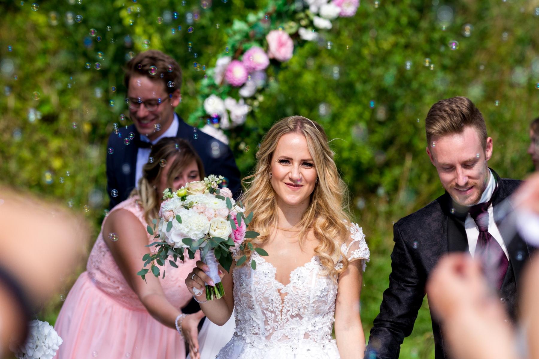 Just married: Christin & Marco