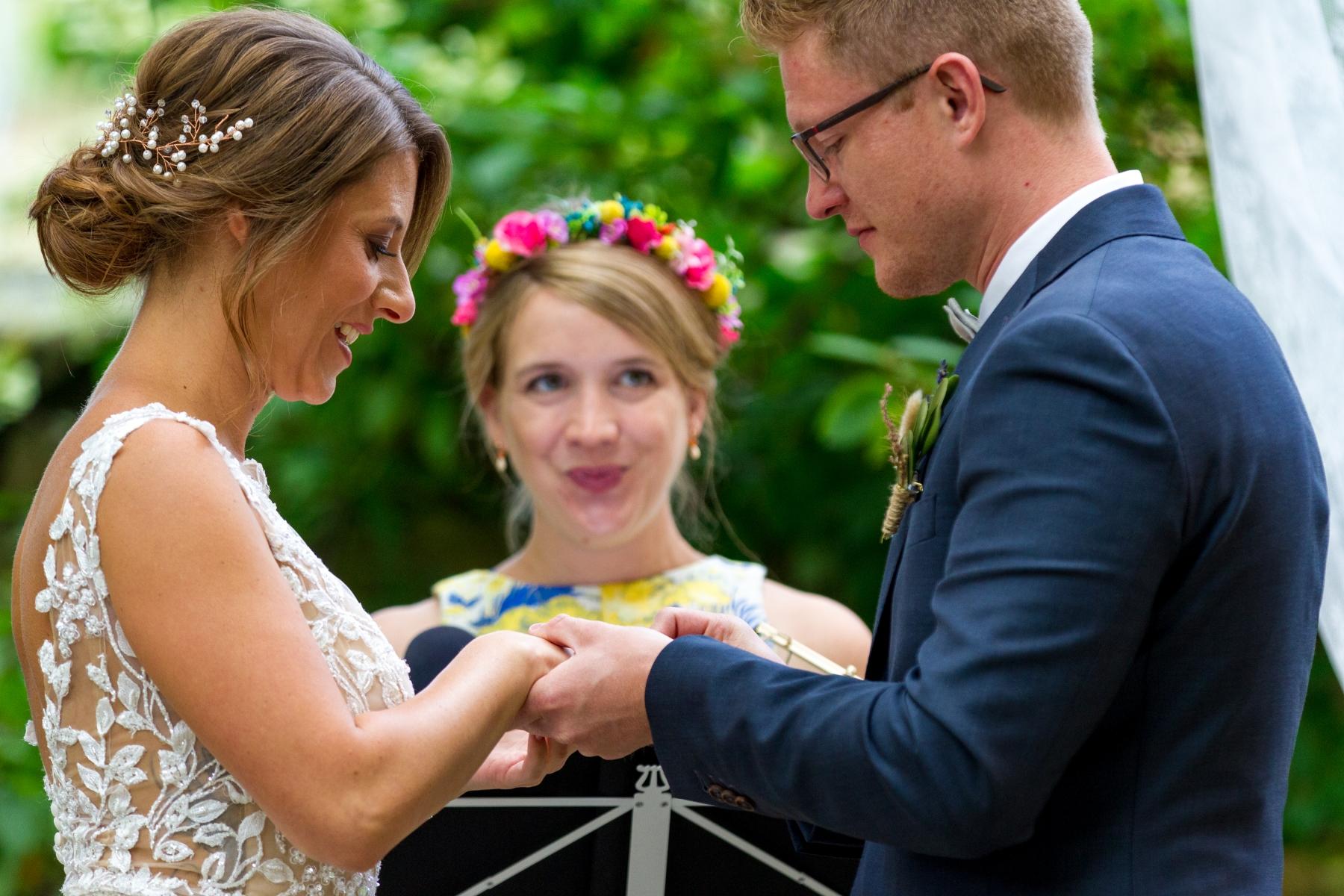 Der Ringtausch von Isabell & Sven