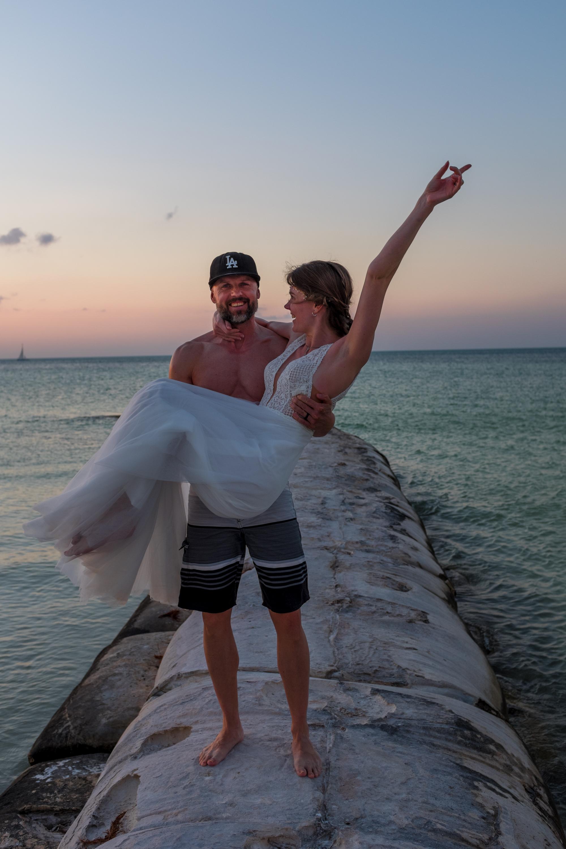 Beach Wedding Hochzeit Strand Freie Trauung Mexiko Ausland Boda Playa