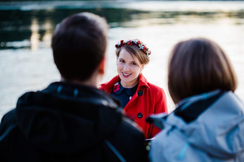 Tiny Wedding Corona Hochzeit Licht und Herz Hochzeitsfotograf Karlsruhe Freie Trauung